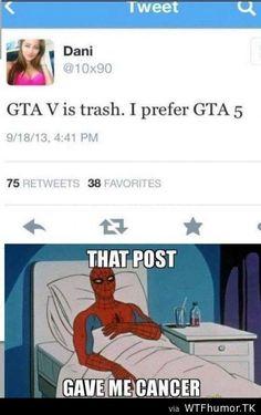 http://www.dexterousgamers.com/reviews/grand-theft-auto-gta-v-review/ GTA V is trash. I prefer GTA 5