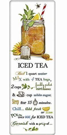 Mary Lake Thompson Flour Sack Recipe Towel - Sweet Iced Tea, http://www.amazon.com/dp/B01EAWO9DM/ref=cm_sw_r_pi_s_awdm_JLzLxbAQFRM5N