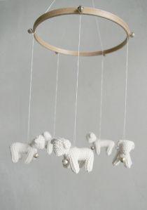 móbile artesanal crochê