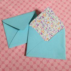 Make Beautiful Fabric-Lined Envelopes