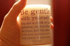 desiderata! i have the entire thing on my wall