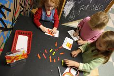 Make fires using red, orange, and yellow tape!