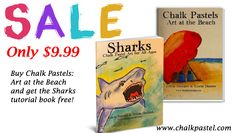 You ARE an Artist Summer Beach Sale! Buy Art at the Beach and get Sharks for FREE! ($7.99 value) through 5/31/15