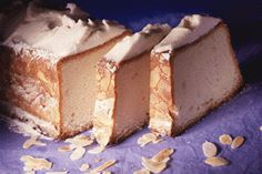 Cake financier glacé Crepe Mille Trou, Biscuits, Feta, Cheesecake, Yummy Food, Cooking, Sweet, Desserts, Cakes