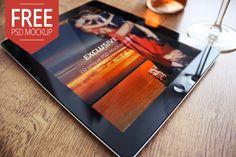 Free iPad 2 Mockup Exclusive - Mocup | Premium PSD Mockups, Free PSD Mockups, Real Photo Mockups