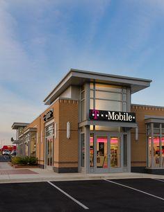 Shopping Center Design for Greenleaf at Howell Designed by