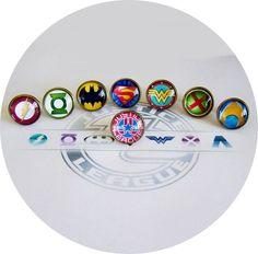 justice league cufflinks