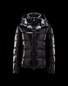 Jacket Men Moncler Maya in Black- Original products on store.moncler.com