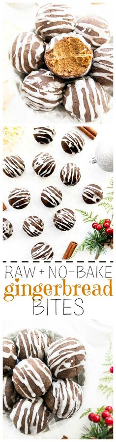 http://www.theglowingfridge.com/raw-gingerbread-bites-two-ingredient-icing/