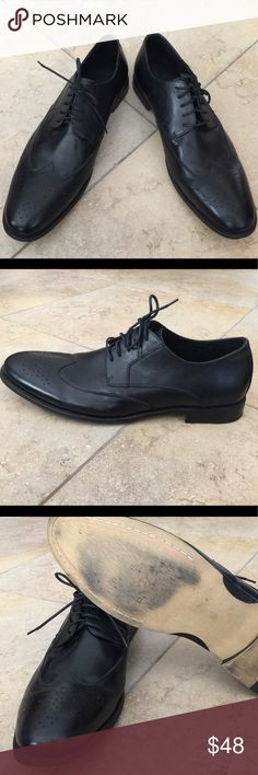 Asher Green oxford style Mans shoe size 15 Used ones but perfect condition look like new. Black color Asher Green Shoes Oxfords & Derbys