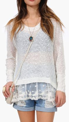 Crosby Spring Sweater / casual women's fashion