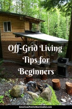 Have you ever dreamed of being self-sufficient in your homestead? Well here are 6 steps to Off-Grid Living for beginners. (Don't skip step number Off Grid Homestead, Homestead Farm, Homestead Living, Homestead Survival, Camping Survival, Survival Prepping, Survival Skills, Survival Gear, Survival Videos