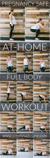 at home full-body workout (safe for pregnancy)