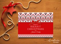 Christmas Card  Instant DOWNLOAD  EDITABLE by AndreeDesignStudio Christmas Cards, Handmade Gifts, How To Make, Etsy, Design, Christmas E Cards, Kid Craft Gifts, Xmas Cards, Craft Gifts