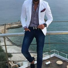 Summer look #mensstyle #menswear #menslook #stylish #guy #fashion #menwith #man #mensstyle #mensclassic #classic #dapper #gentleman #style #wear #trend #mensfashion #luxury #luxurylife #outfit #mensphysique #suit #mens #swag #swagger #jacket #urban by mensloverswatch