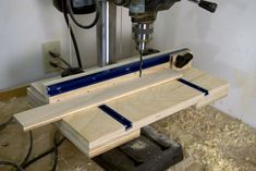 Drill Press Table/Fence 1