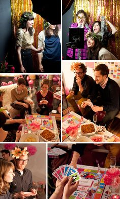 13th Birthday Party-Themed New Year's Party at Design*Sponge - love this idea!