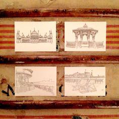 Image of Brighton illustrations