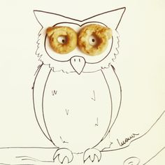 #owl #foodart #animal #gufo