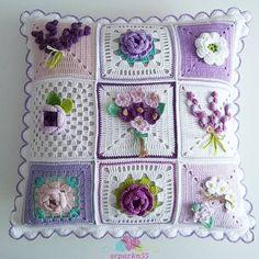 Crochet Granny Square Pattern Flower Afghans Ideas For 2019