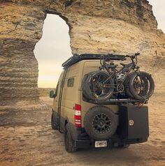 The 27 best RVs and camper vans - Camper Life Truck Camper, 4x4 Camper Van, Kombi Motorhome, Off Road Camper, Camper Life, Sprinter Motorhome, Mercedes Sprinter Camper, Sprinter Van, Stealth Camping