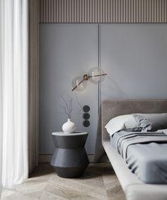 Closet Bedroom, Home Bedroom, Modern Bedroom, Bedroom Decor, Bedrooms, Bed Design, House Design, Suites, Hanging Shelves