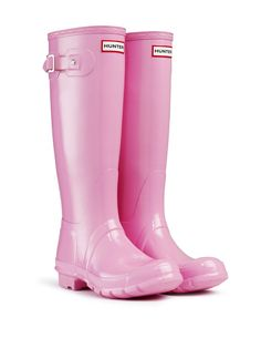 cherry blossom #hunter wellington boots chosen by #sweetstyle from #dtll #downthatlittlelane