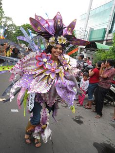 Exchange student also participated in Costume Carnival 2nd ICCCF, Malang, East Java, Indonesia.