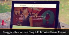 Theme Description:Blogger Blog & Folio Pre Theme    Our Review:  Blogger Blog & Folio is a premium WordPress blog theme by AVAThemes. The 4+ Columns theme design with multicolor combination looks clean and modern that suites. The theme is a fully configurable and easy to use WordPress theme with a lot of great features. This theme has been specifically created such a way to be easily customized and it's created for creatives who want to make personal blog in minutes. The theme also ready…
