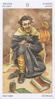 Fool from the Sorcerer's Tarot