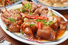 Japchae, Chicken Wings, Beef, Ethnic Recipes, Food, Cooking Recipes, Meat, Essen, Meals