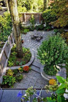 #urban garden #courtyard garden Love this!
