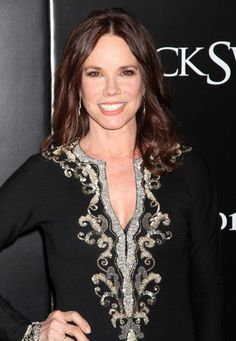 barbara hershey...you can only tell by her hands.