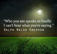 SEED OF LETTING YOUR LIFE SPEAK FOR ITSELF