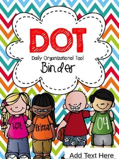 FREE DOT Binder Cover {Editable}