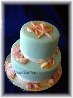Seashell Cake by Diane's Sweet Treats