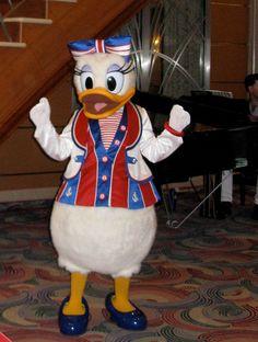 Patriotic Daisy Duck