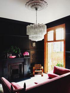 House and Flourish Blog- Color Inspiration- Black