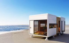 This Tiny, Self-Sufficient Mobile Home Operates Off-Grid in Any Locale  Click below to view more image...  http://www.industrytap.com/tiny-self-sufficient-mobile-home-operates-grid-locale/17991
