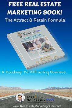 Do you like real estate marketing? Then here's a book on how to attract business so you can quit constantly chasing it. Mail Marketing, Content Marketing, Real Estate Book, Cold Calling, Direct Mail, Self Promotion, Lead Generation, Real Estate Marketing, Attraction