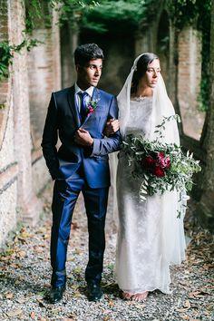 Dramatic Italian Wedding Inspiration   Maria Lamb Photography   Gracious Villa Wedding in the Heart of Tuscany