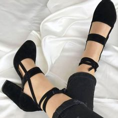 Women-039-s-Lace-Up-Block-High-Heels-Closed-Toe-Shoes-Ankle-Strap-Pumps-US-Size-3-11