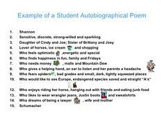 Color Poem  TeachingPoetry    Homework Business