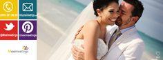 Hermosa imagen de nuestros amigos de Beat Photography.   Organizamos bodas destino, no dudes en llamarnos:  http://www.meximeetings.com.mx/