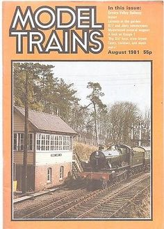 Model trains #august 1981 railway modelling #magazine #airfix,  View more on the LINK: 	http://www.zeppy.io/product/gb/2/350884629288/