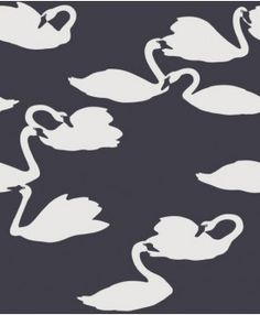 Eco Exclusive (2552) Animal themed Swan wallpaper