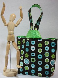 My favorite little project bags! I have at least 6 of these: SewBendy (etsy) project bag