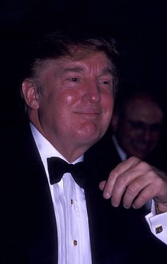 Donald Trump attends USO New York Gold Medal Awards Dinner Honoring Donald Trump on October 9 2002 at the Plaza Hotel in New York City