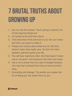 Someone Asks What Growing Up Means, And His Answers Are Amazing