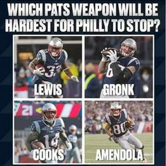 Unfortunently Philly Won and knocked Cooks out of the game New England Patriots, Baseball Cards, Sports, Game, Hs Sports, Gaming, Toy, Sport, Games